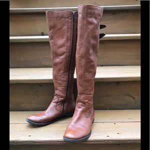 Aldo Over the Knee Riding Boots Brown 8